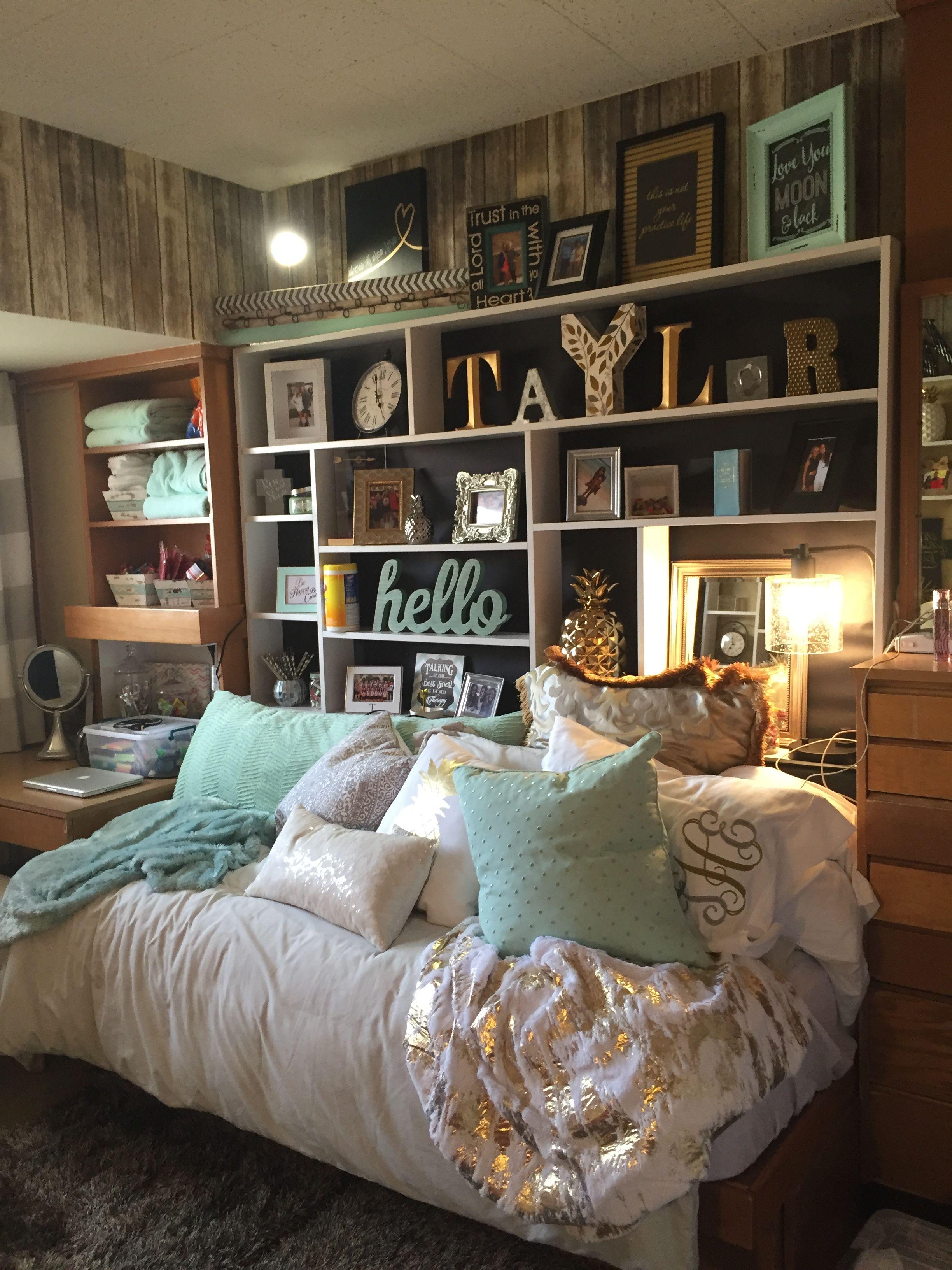 Dream Dorm Room: Dorm Room Organization, Girls
