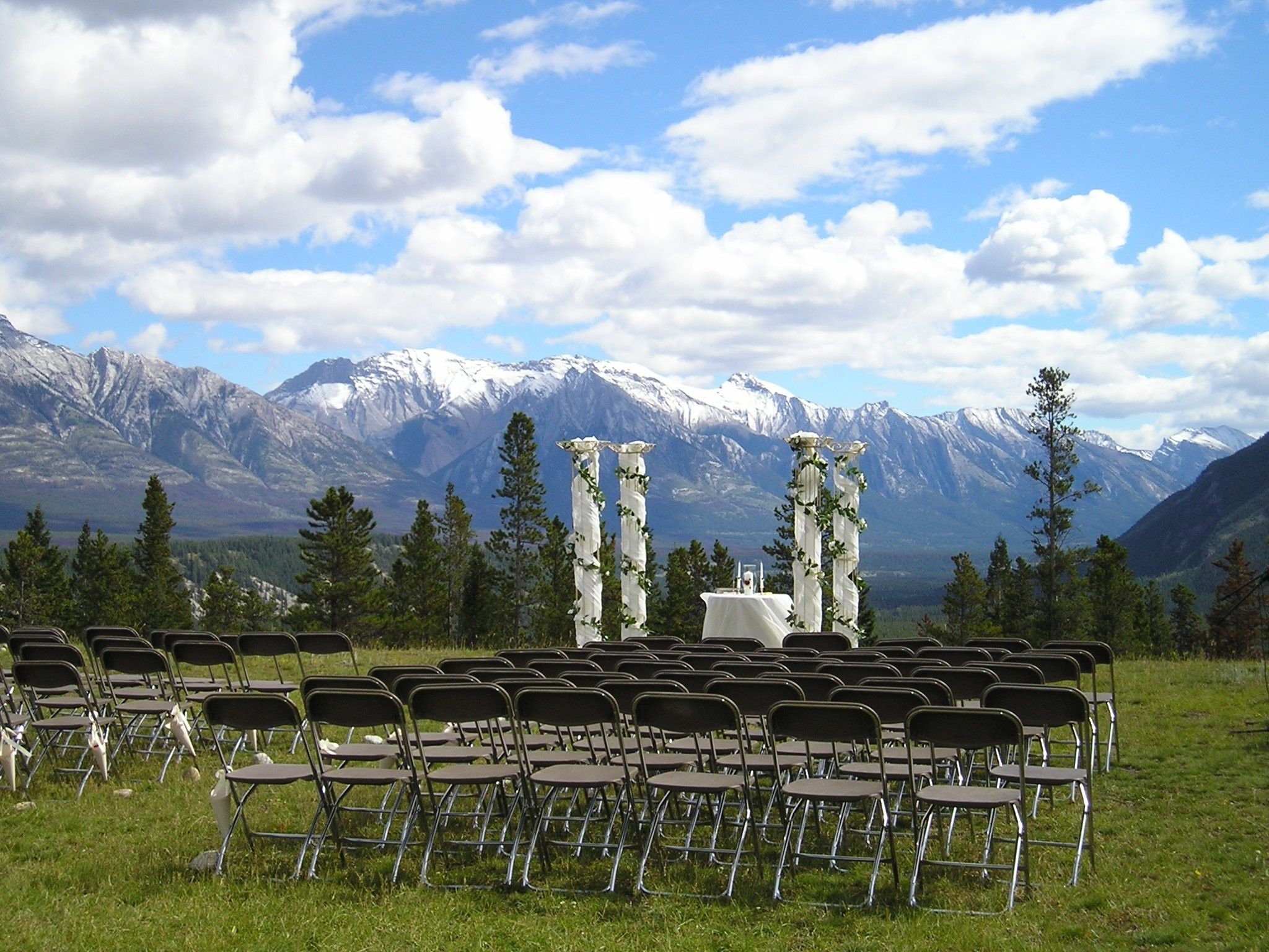 Banff wedding venues outdoor