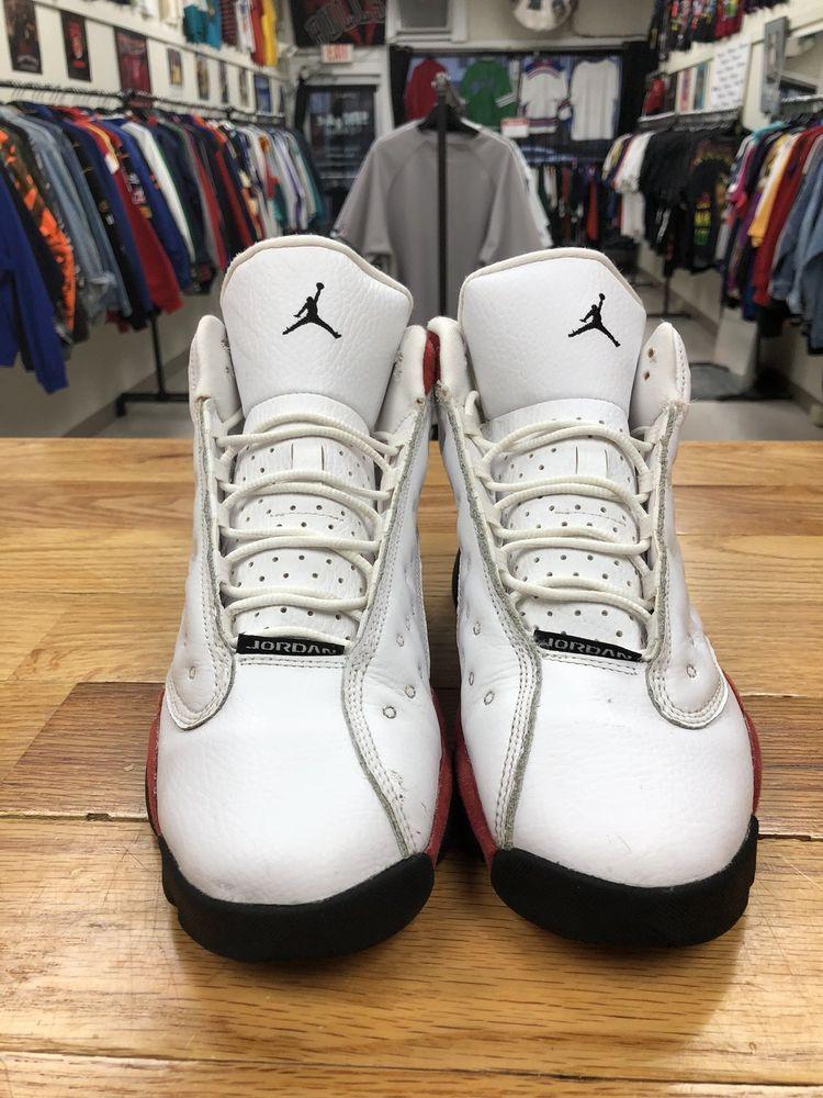 "957484bd359e Nike Air Jordan 13 Retro ""Chicago"" 2017 Style   414574-122 Size 7Y ..."