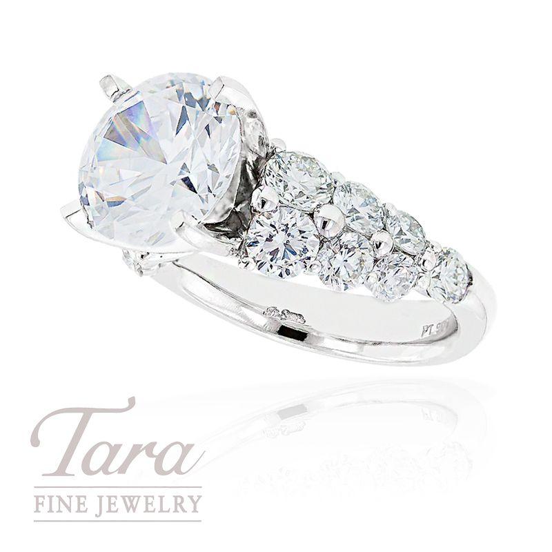 JB Star 2.13 Ct Tdw Diamond Engagement Ring Semi Mount