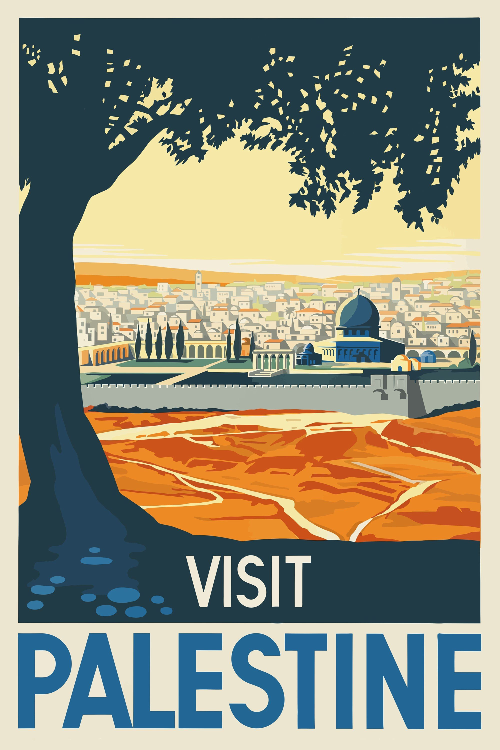 "1930s /""Istanbul/"" Vintage Style Turkey Travel Poster 20x30"