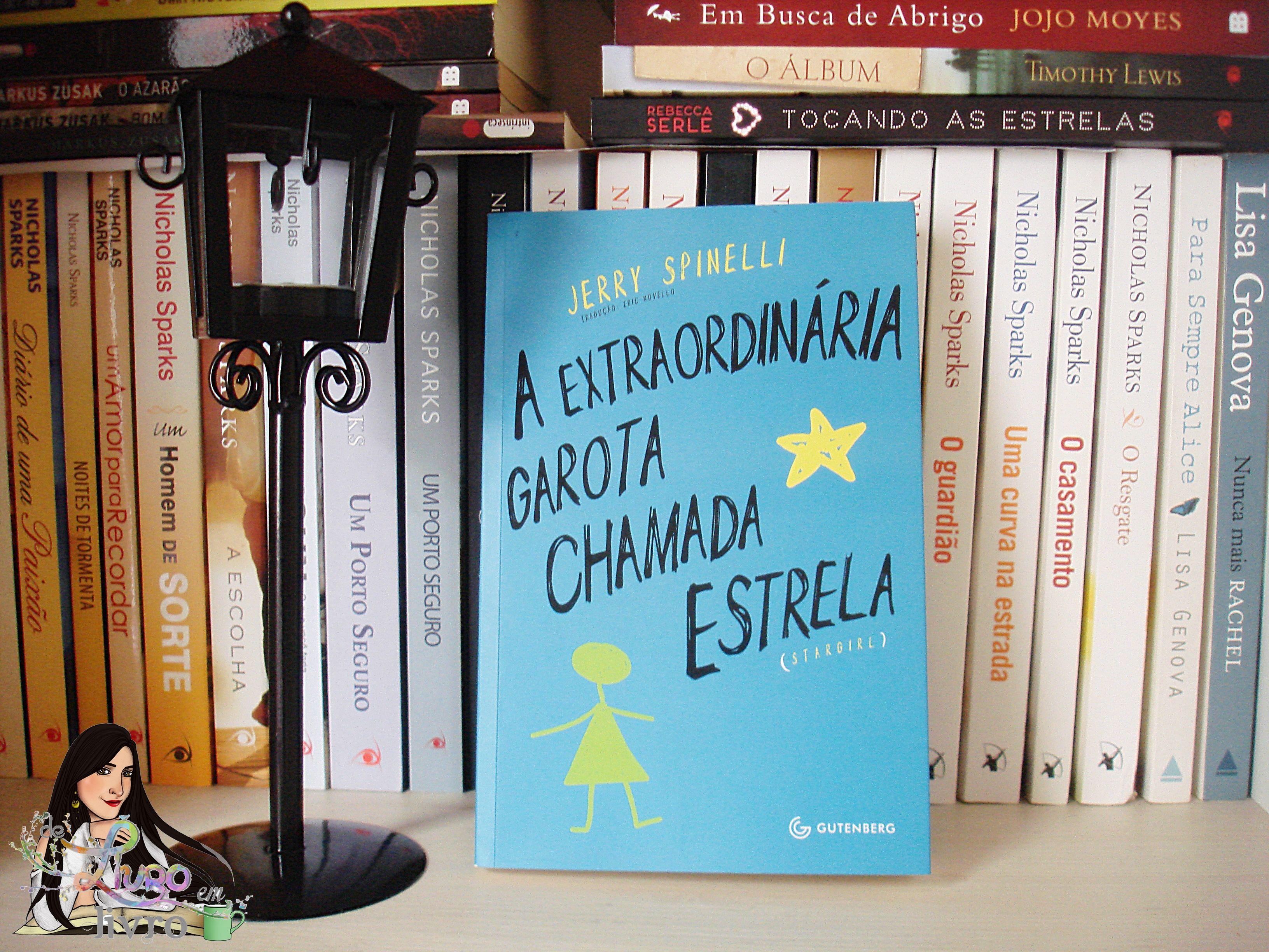 Que liiiiiindo: A EXTRAORDINÁRIA GAROTA CHAMADA ESTRELA:  http://www.delivroemlivro.com.br/2015/09/resenha-322-extraordinaria-garota.html