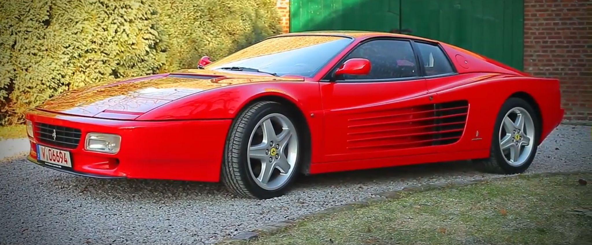 1992 Ferrari 512 Tr Ferrari 348 Ferrari Ferrari Testarossa