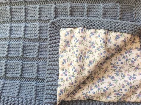 patron gratis manta de bebe en inke madrid | Tricot et crochet ...