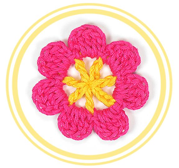 Flor de Siete Pétalos a Crochet #1 | PATRONES VALHALLA // Patrones ...
