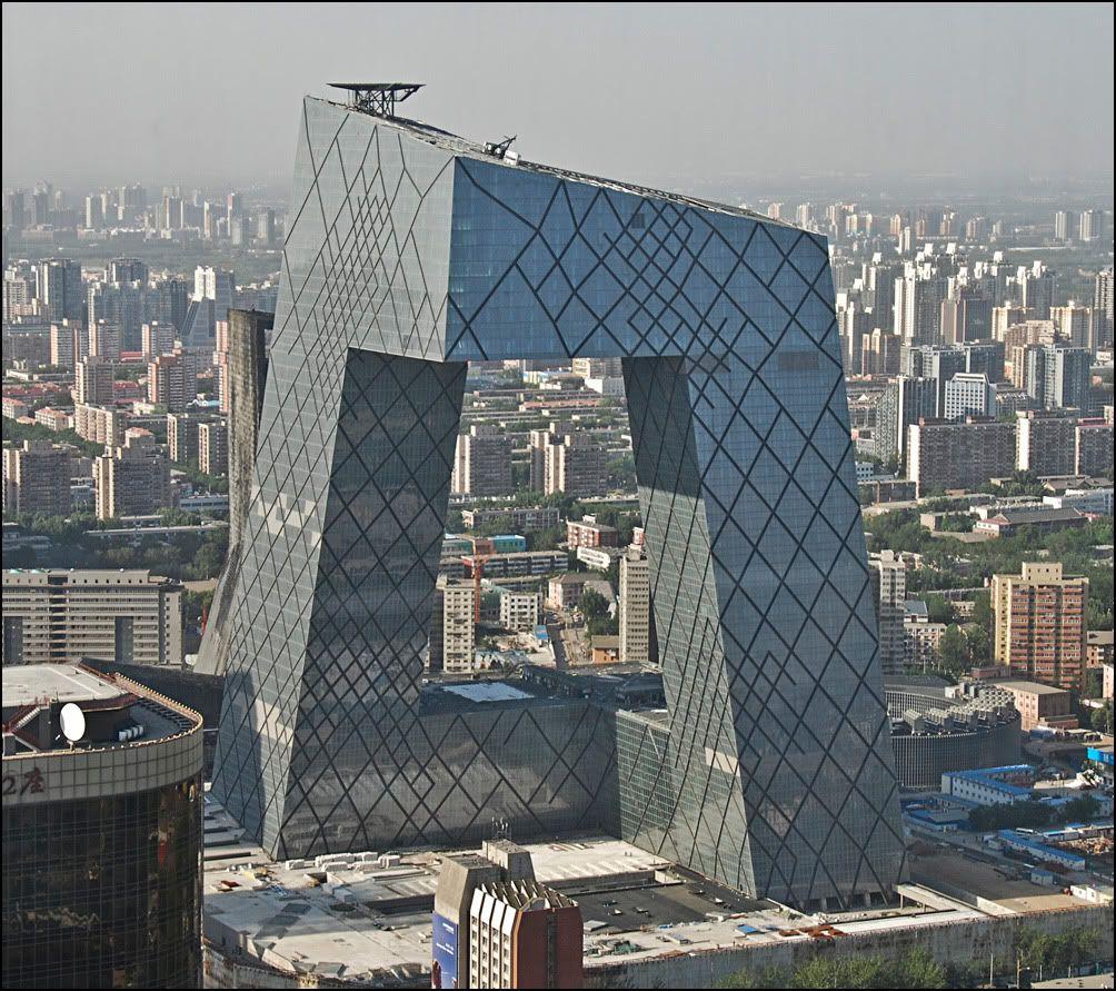 Cctv hq china rem koolhaas architectuur opdracht pinterest - Maison familiale design a beijing en china par arch studio ...