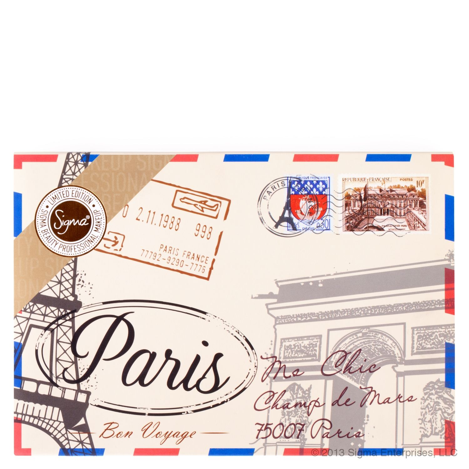 Paris Palette - Limited Edition by Sigma. MAJOR WANT