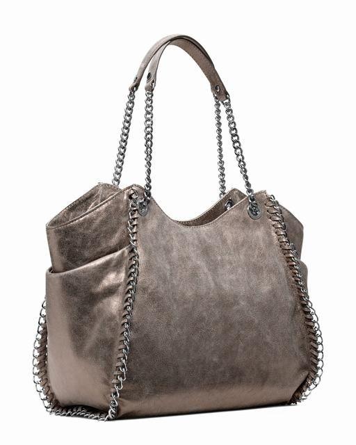 Michael Kors Große Chelsea Metallic Tote Nickel 1 Handbags Jewellery Jewellerydesign