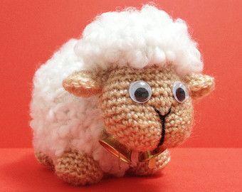 Easy Amigurumi Pdf : Diy sheep amigurumi crochet pdf easy pattern sheepy lamb baby