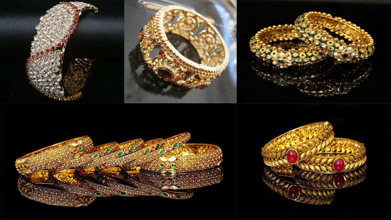 49b40da71b376 Beautiful Gold Bangles Designs    Latest Gold Bangle Designs   New ...