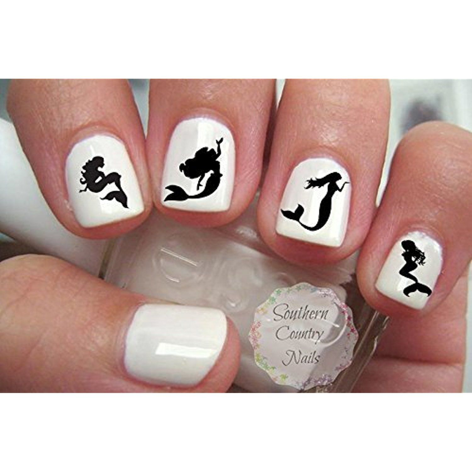 40 Mermaids Nail Art Decals For More Information Visit Image