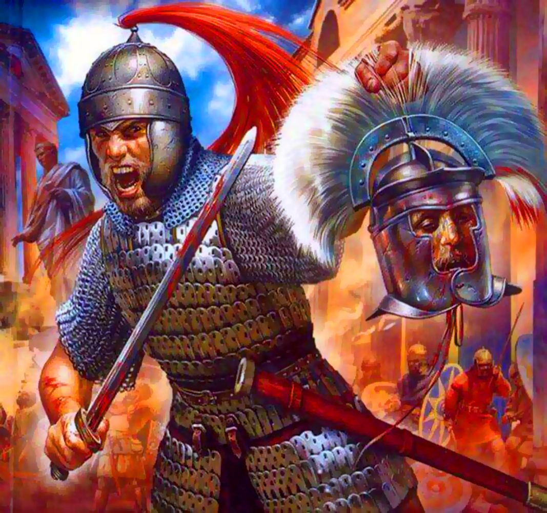 Sack of Rome | Ancient warfare, Ancient warriors, Ancient ...