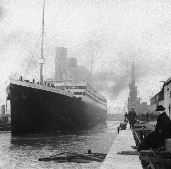 titanic タイタニック 歴史的な写真 古写真