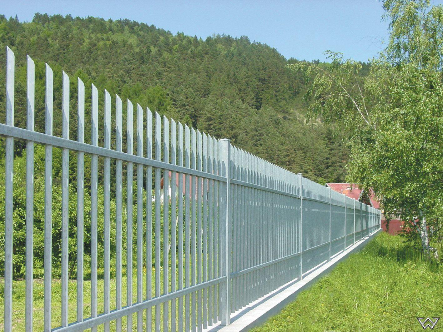 Moderne Stahlzaune Aussengelander Zaun Stahlzaun