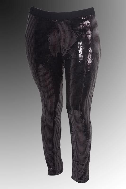 collection plus size sequin leggings pictures - reikian | all that