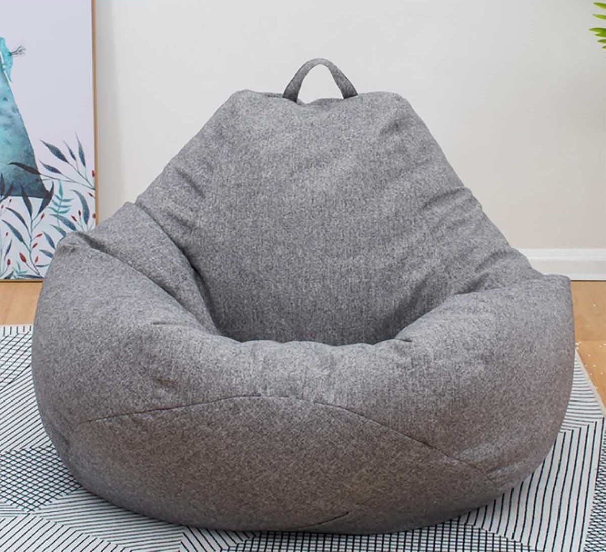 Coverbrilliant Large Bean Bag Lively Focus Bean Bag Sofa Large Bean Bag Chairs Bean Bag Chair