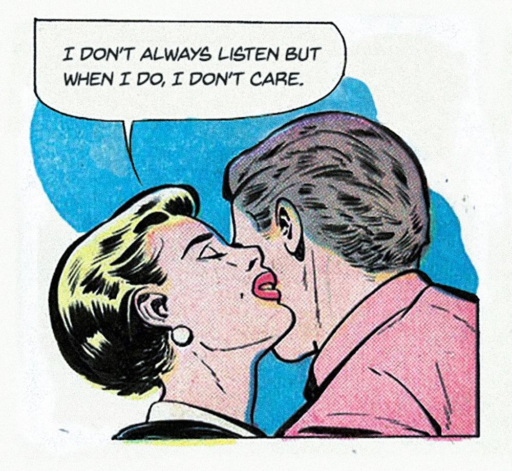 This Isn't Happiness: Mid-Century Romance Comic Books Updated Into Tales Of Shallow Lives And Empty Sex #comicbooks