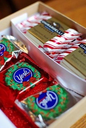 lovely christmas box idea holiday ideas Pinterest Navidad