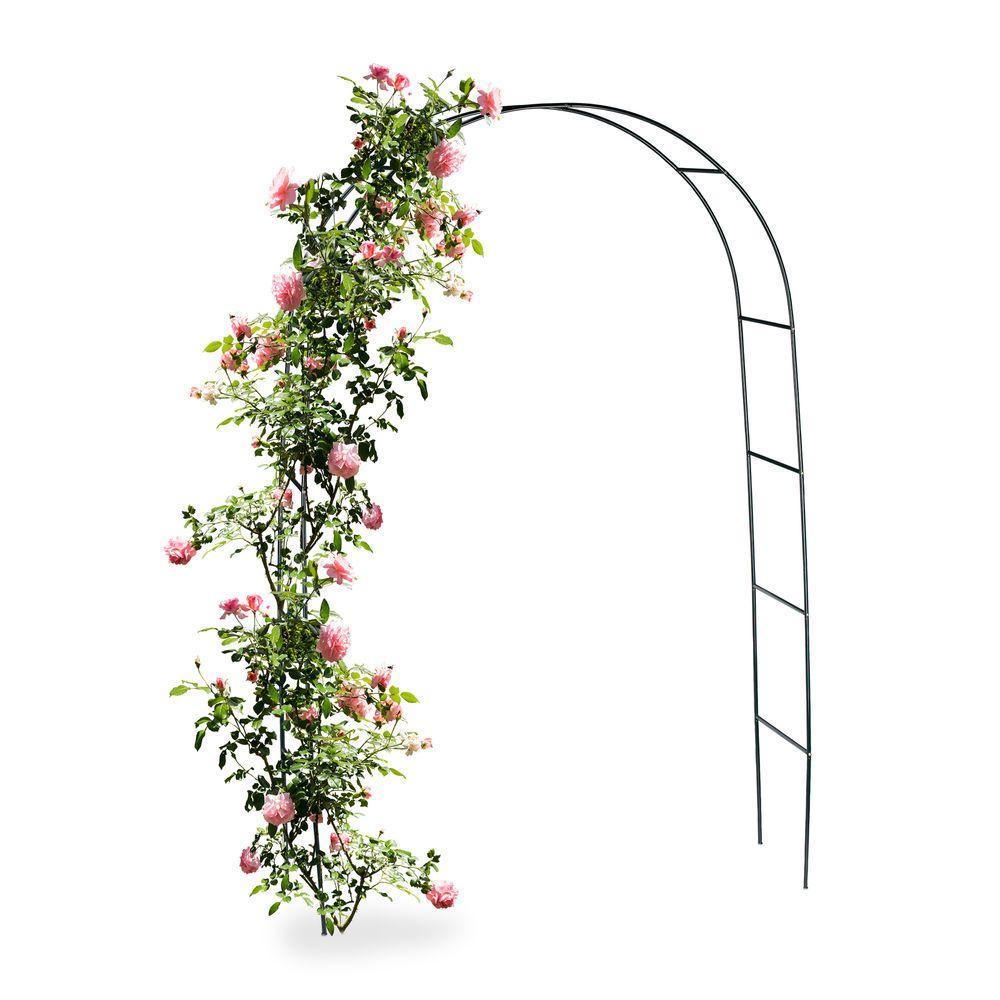 Torbogen Rankhilfe Metall Fur Kletterpflanzen Rosenbogen Garten Deko Dunkelgrun Ebay In 2020 Pflanzen Kletterpflanzen Garten Deko