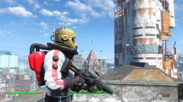 Habt ihr Fallout 4 für PS4, könnt ihr jetzt Mods herunterladen und aktivieren. Wie wäre es mit einem Jetpack?