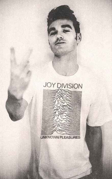 Morrissey The Smiths, Joy Division tee