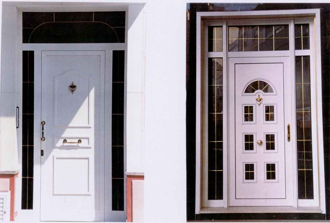 catalogo de puertas de aluminio puertas pinterest