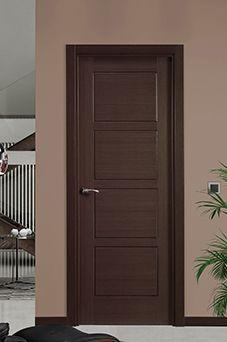 Puertas de madera modernas todos los estilos - Puertas de madera interiores modernas ...