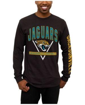 Junk Food Men's Jacksonville Jaguars Nickel Formation Long Sleeve T-Shirt - Black L