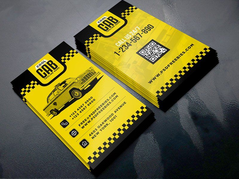 Taxi cab service business card template psd wd pinterest card taxi cab service business card template psd free business cardsbusiness card templatestransportation flashek Image collections