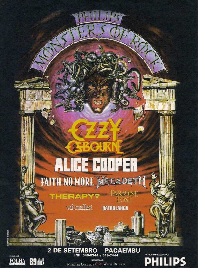 OZZY & ALICE ... Monsters of Rock!!! | The Concerts | Pinterest ...