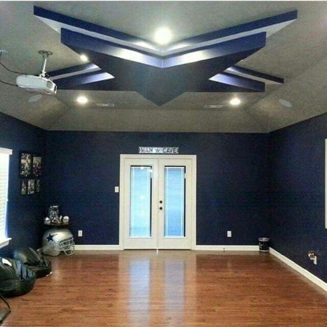 Dallas Cowboys Bedroom Decor: I Would Love For My Cave To Look Like This!!! Hbtc And