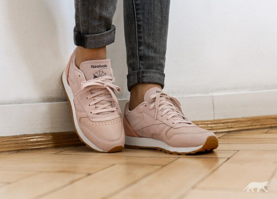 Classic golden Leather Neutrals Gold Rose sandtrap Reebok CqHpazwdp