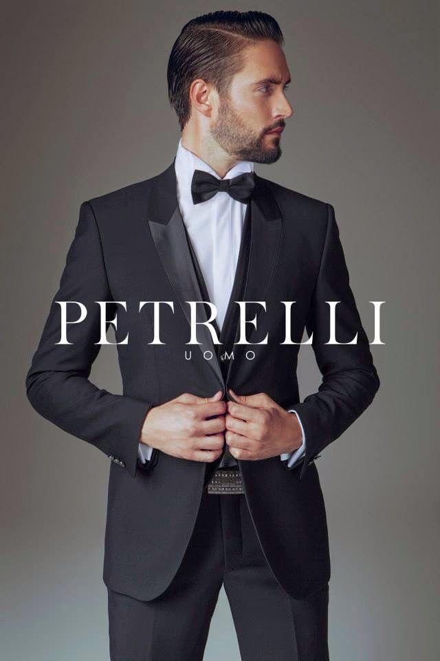 Collezione 2015 nuovo smoking petto incollato Petrelli Uomo  f5e16e5e540