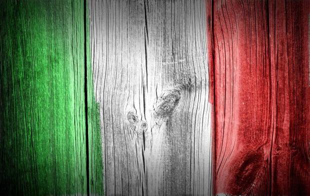Sfondi la bandiera italiana