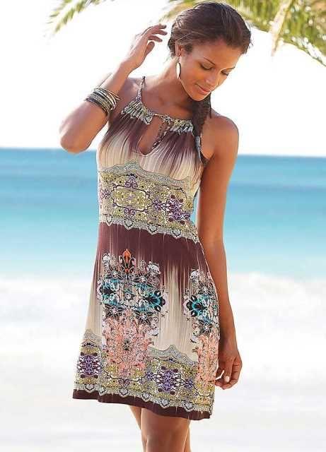 Plaj Elbisesi Google Da Ara Yazlik Kiyafetler Elbiseler Elbise