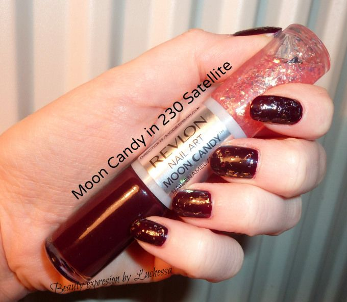 Revlon nail art moon candy in 230 satellite #nails #bbloggers ...