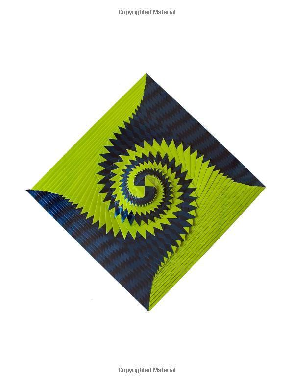 Curlicue Kinetic Origami Assia Brill 9781494234935 Amazon