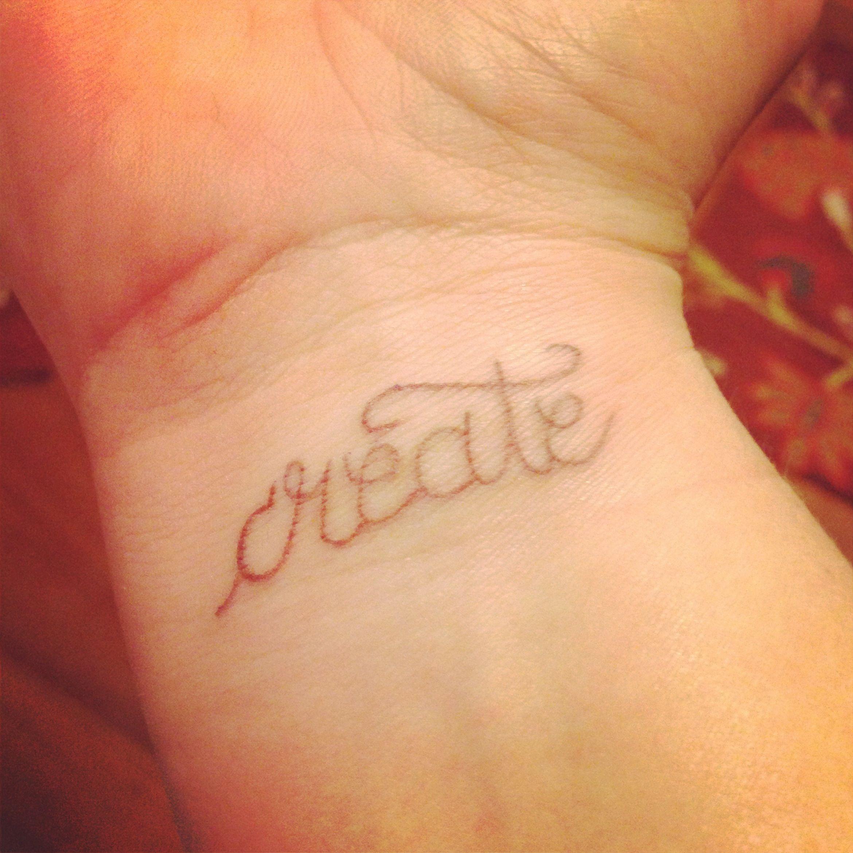 Create brown ink wrist tattoo blu gorilla tattoos for Tattoo charleston sc
