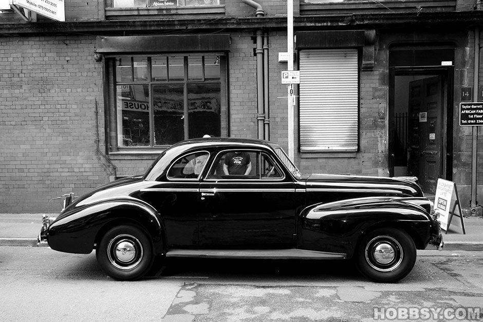 classy old america   ... American 1940s vintage cars on the set of ...