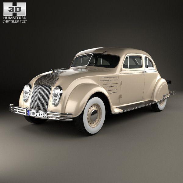 3d Model Of Chrysler Imperial Airflow 1934 Chrysler Airflow