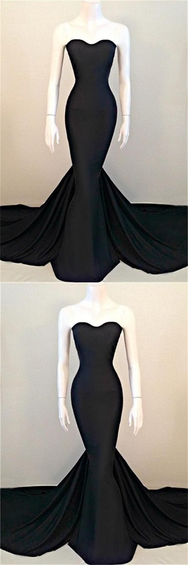 Black prom dresses prom dresses mermaid cheap prom dresses black