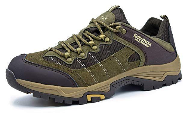 finest selection f3d81 9557a Knixmax Damen Wanderschuhe Hiking Schuhe Outdoor Anti-Rutsch ...
