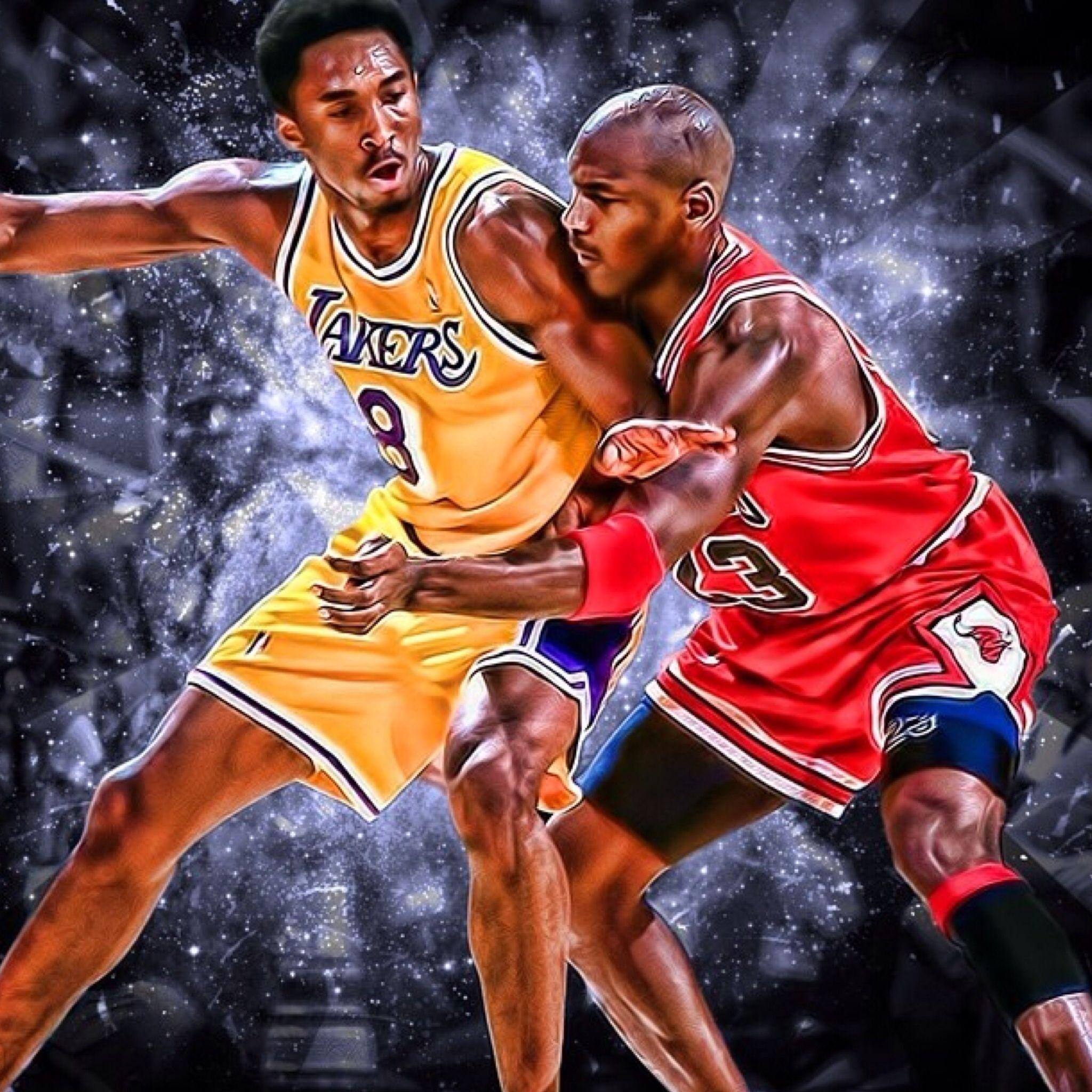 Kobe Mj Kobe Vs Jordan Michael Jordan Kobe Iphone kobe and michael jordan wallpaper