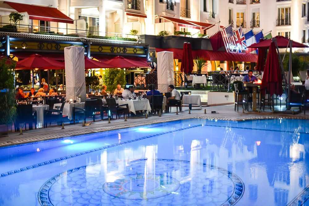 The Majestic Hotel In Cannes