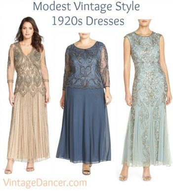 1920s Style Beaded Modest Dresses By Pisarro Find Them And More At Vintagedancer