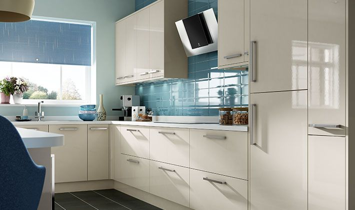 Cream Kitchen Ideas Uk glencoe cream gloss kitchen | wickes.co.uk | kitchen | pinterest