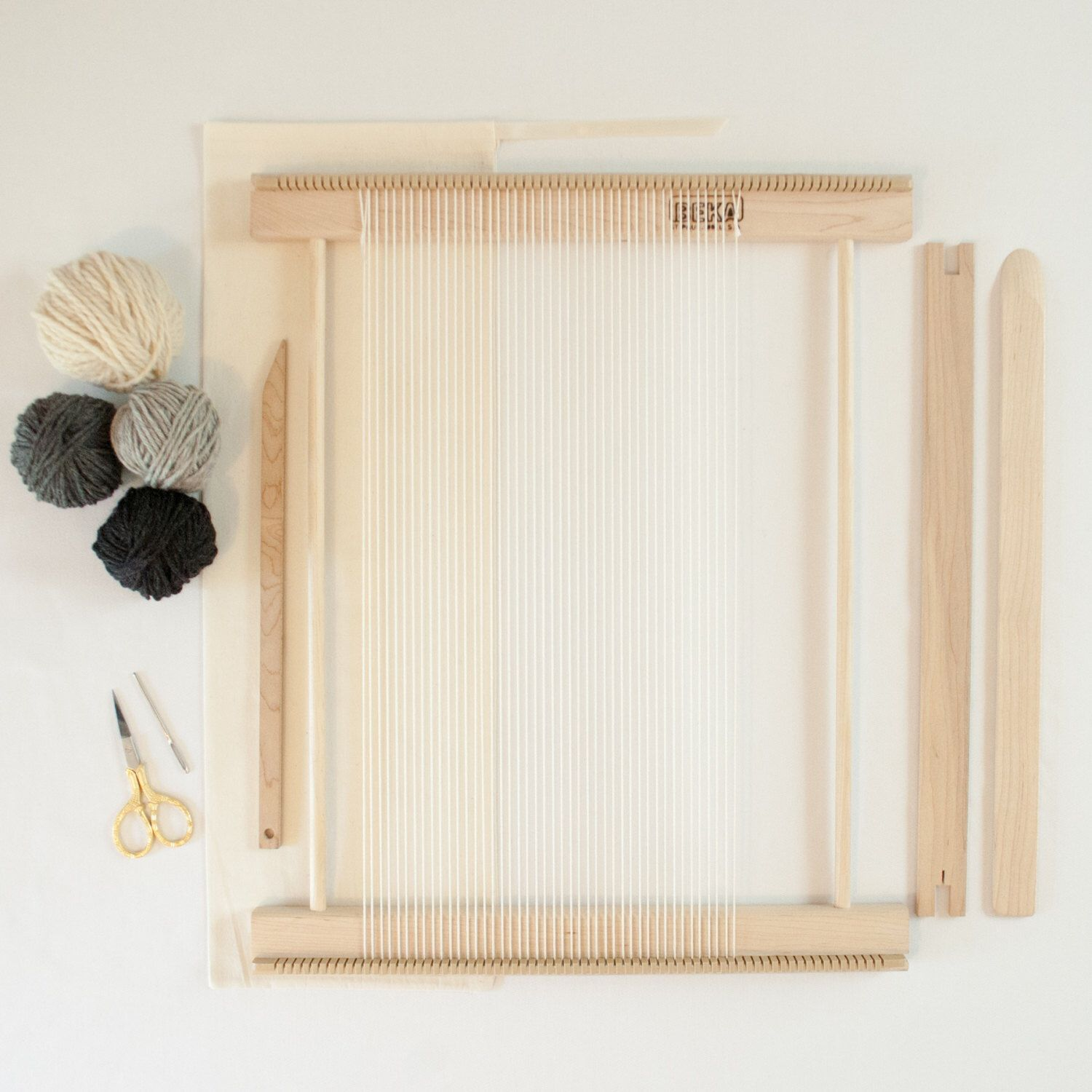 Beginners Frame Loom Weaving Kit / Everything you need to make your ...