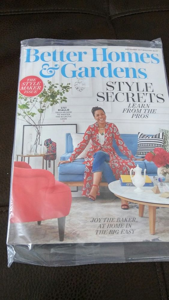 Better Homes And Gardens Magazine September 2017 Edition And Family Circle  Mag