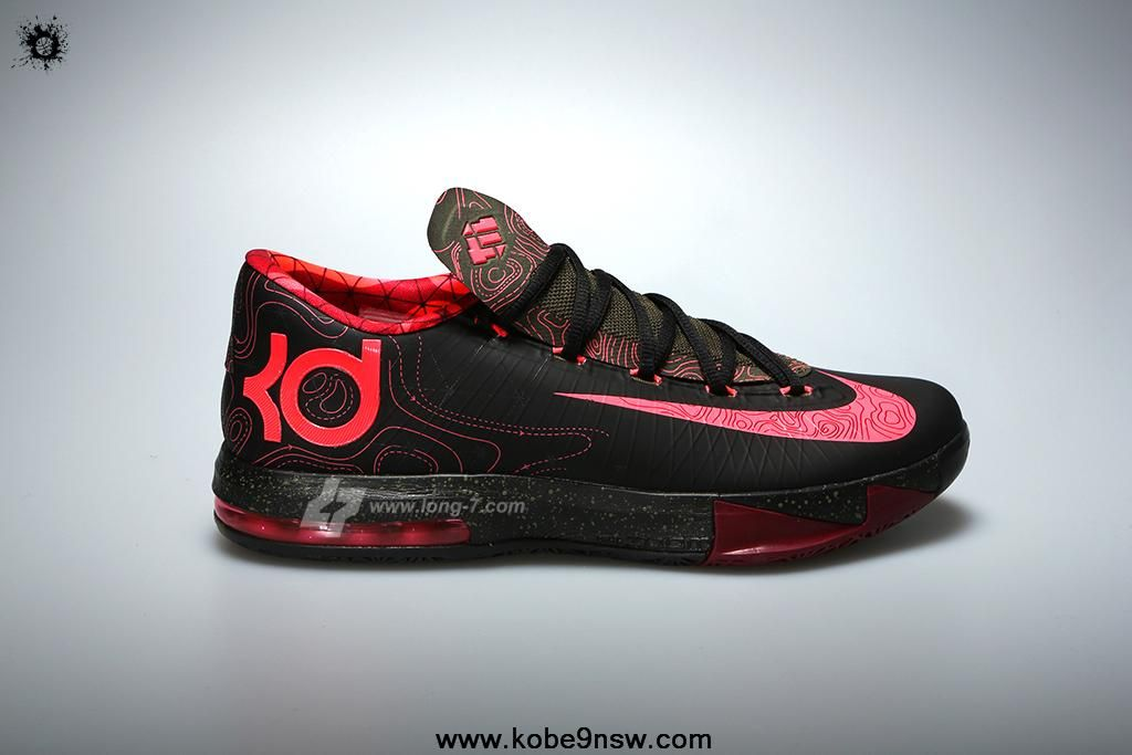 Fashion 599424-006 Black Atomic Red-Medium Olive-Fire Red Meteorology Nike KD VI hoes Store