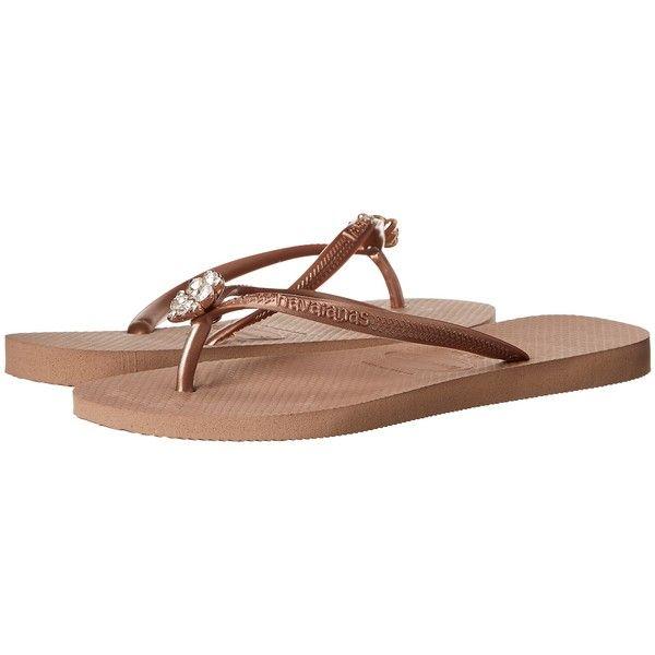 b312a559f9b Havaianas Slim Crystal Poem Flip Flops Women s Sandals